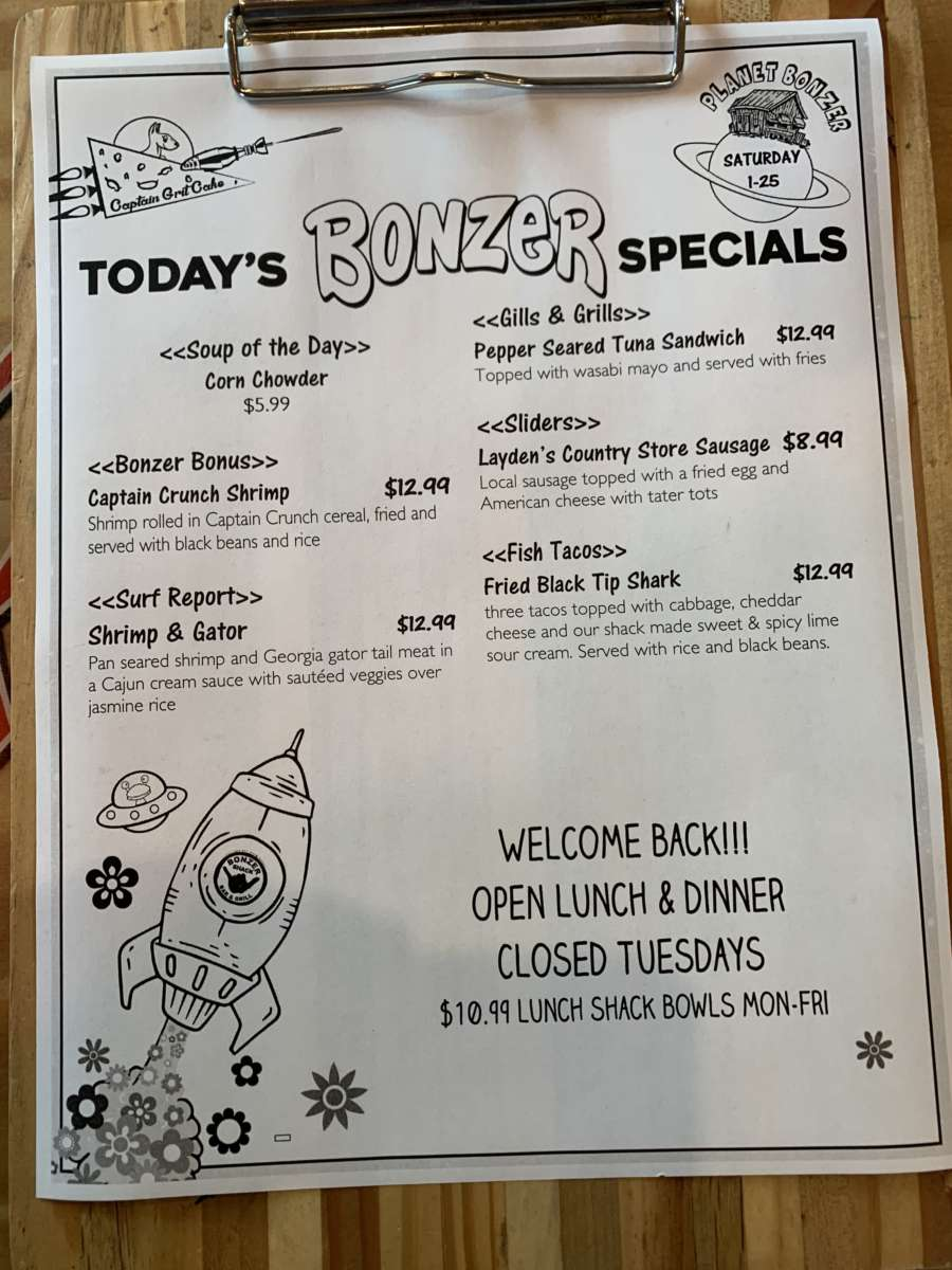 LUNCH SPECIALS 1/25
