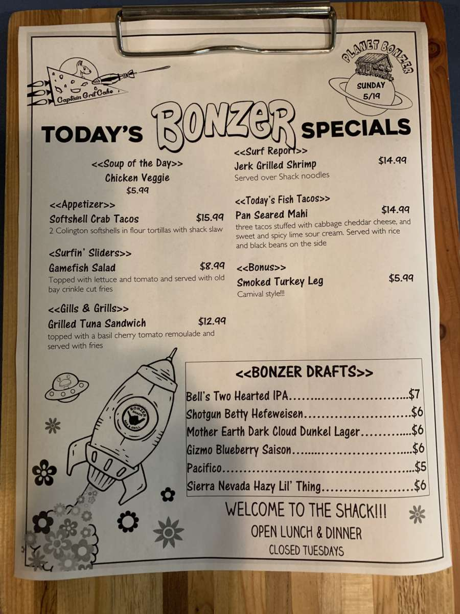 LUNCH SPECIALS 5/19