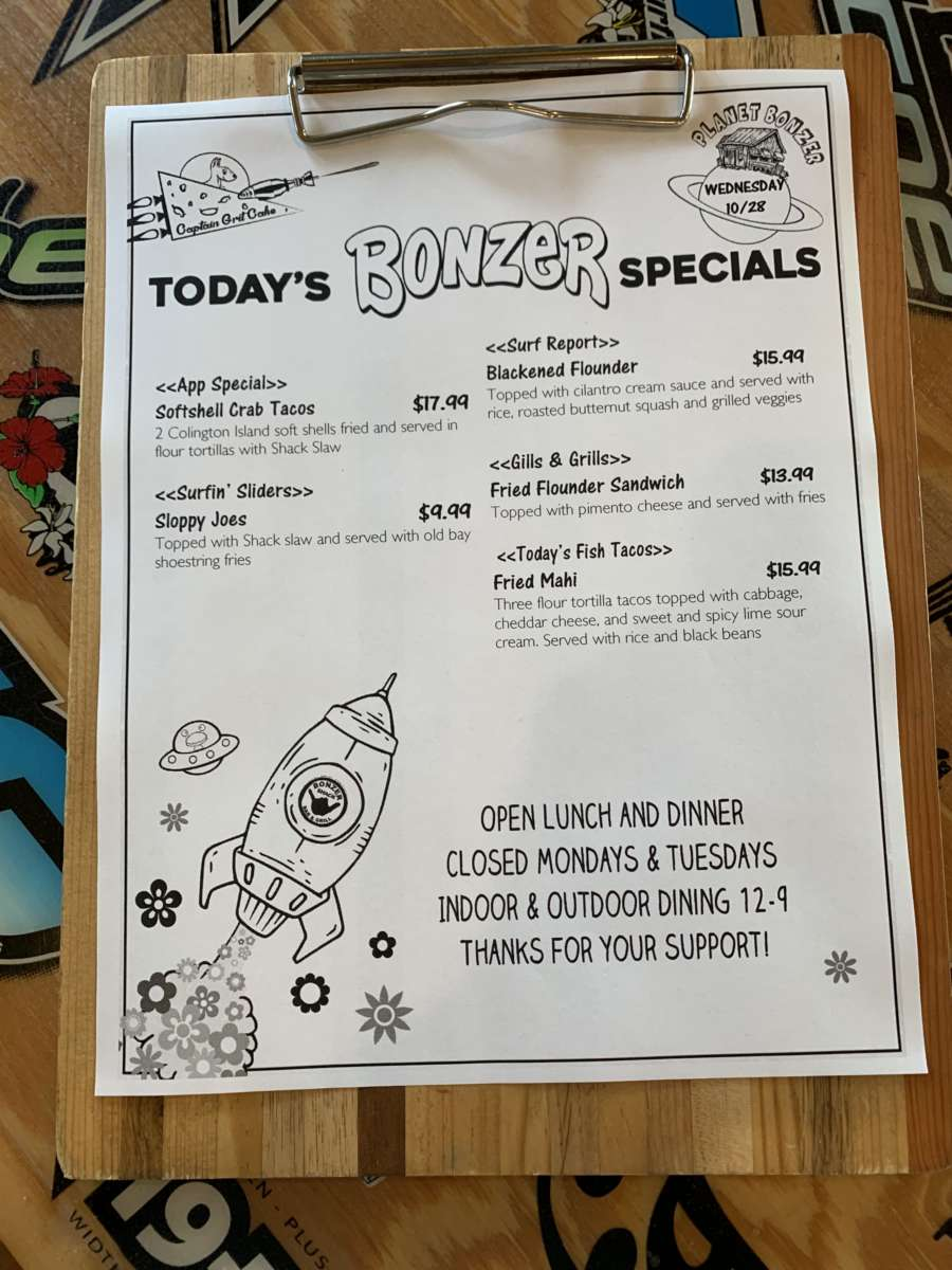LUNCH SPECIALS 10/28