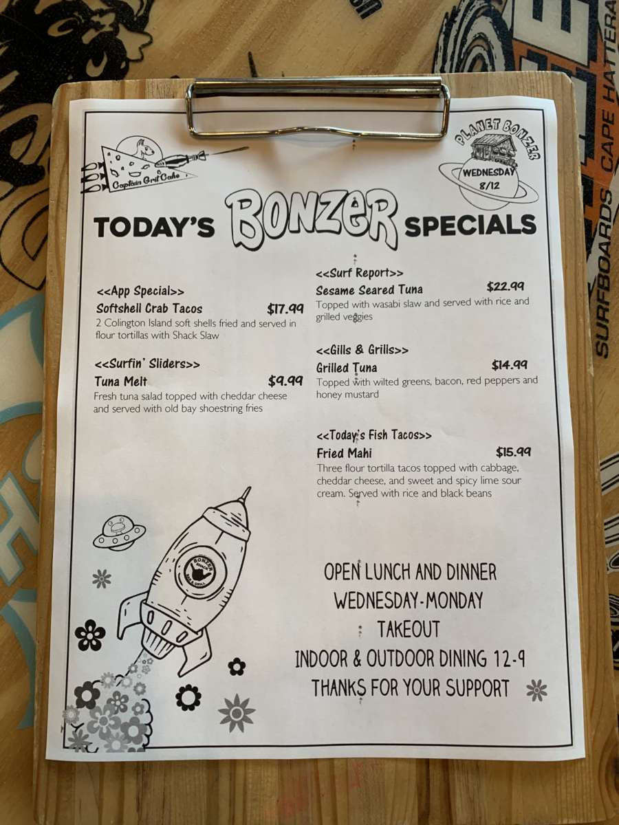 LUNCH SPECIALS 8/12