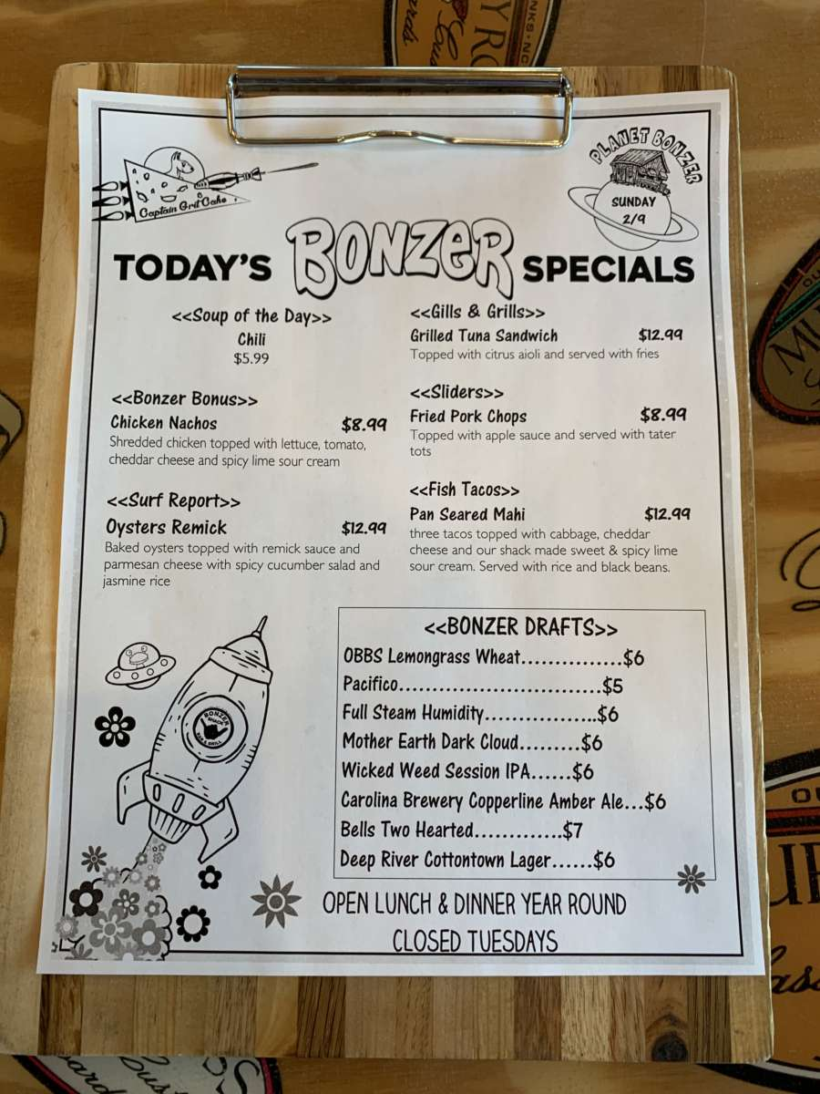 LUNCH SPECIALS 2/9