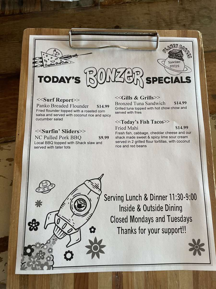LUNCH SPECIALS  07/25