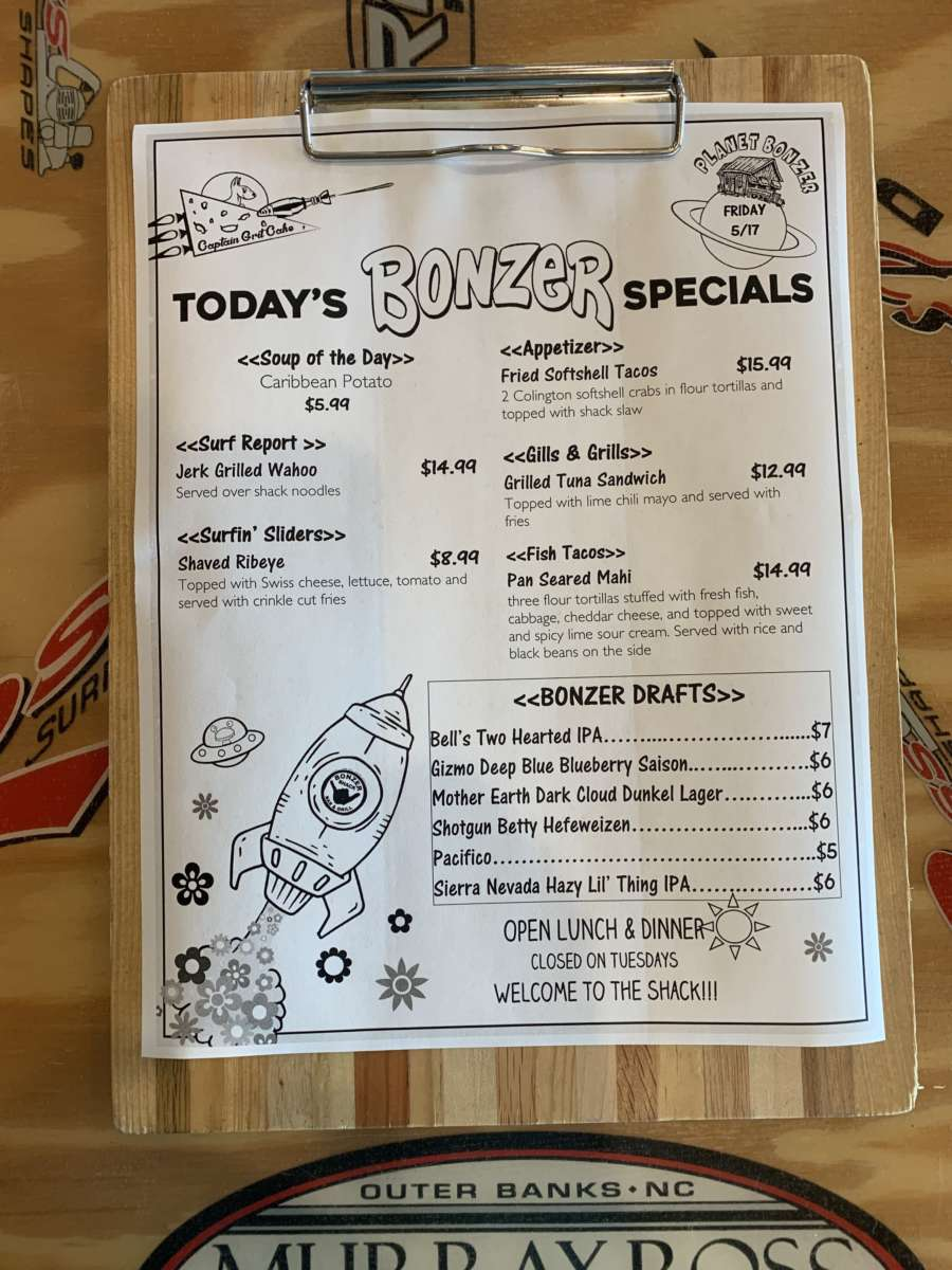LUNCH SPECIALS 5/17