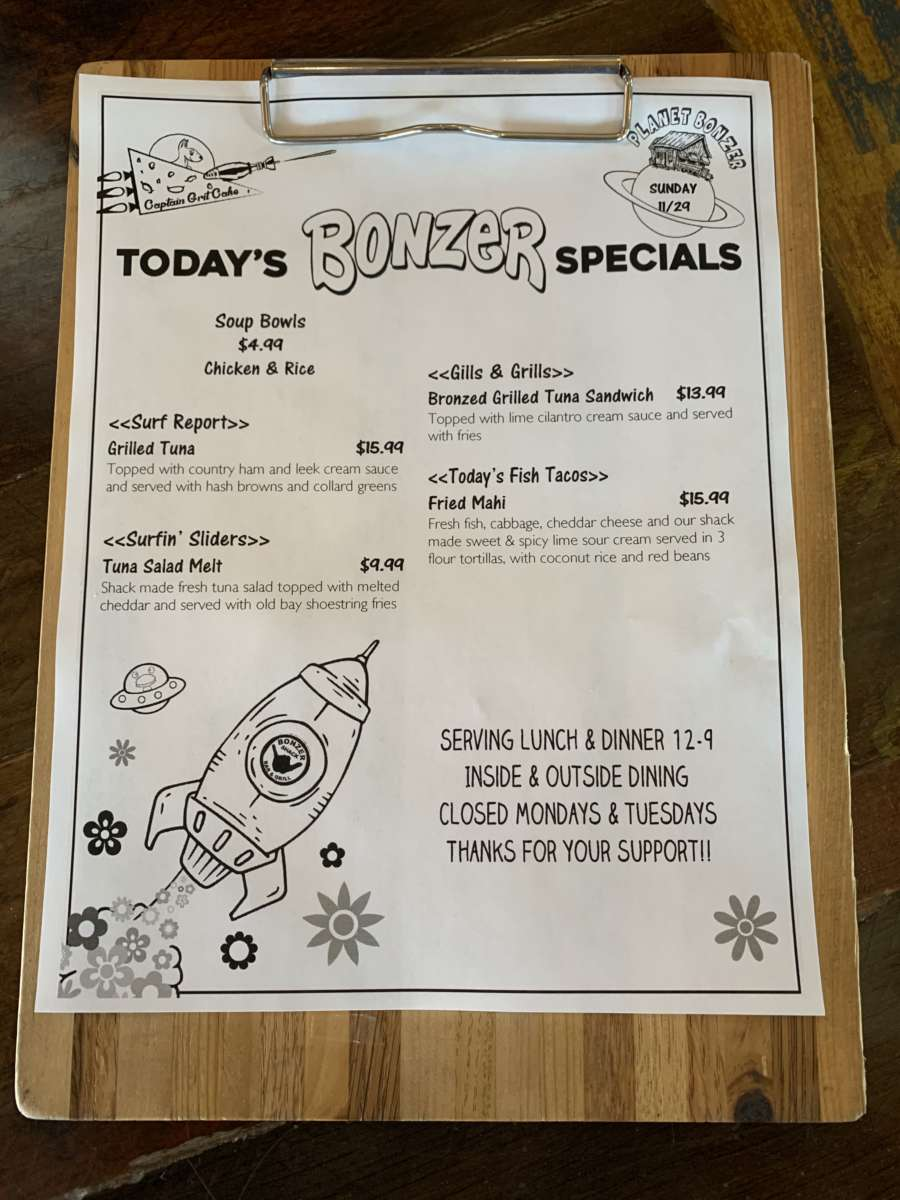 LUNCH SPECIALS  11/29