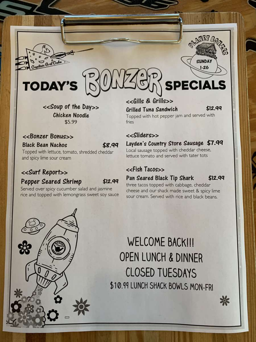 LUNCH SPECIALS 1/26