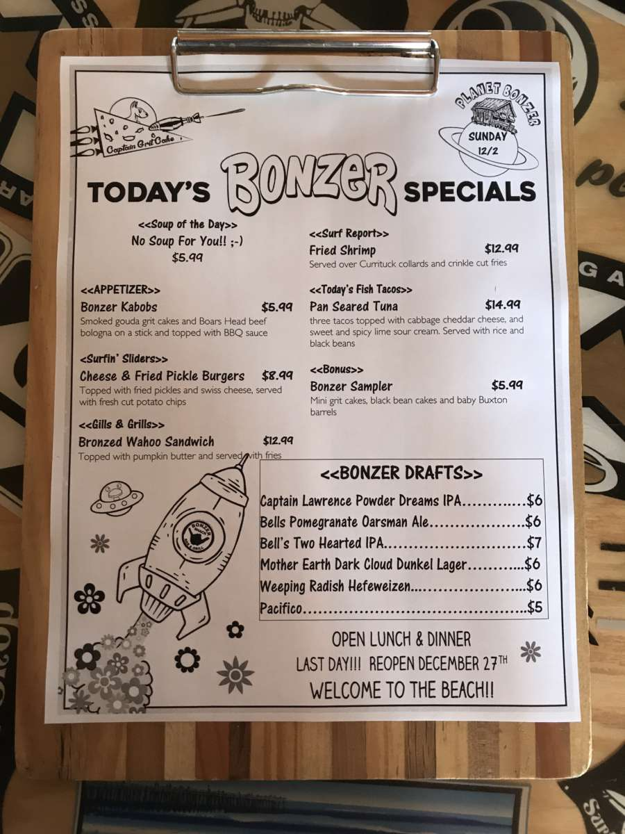 LUNCH SPECIALS 12-2