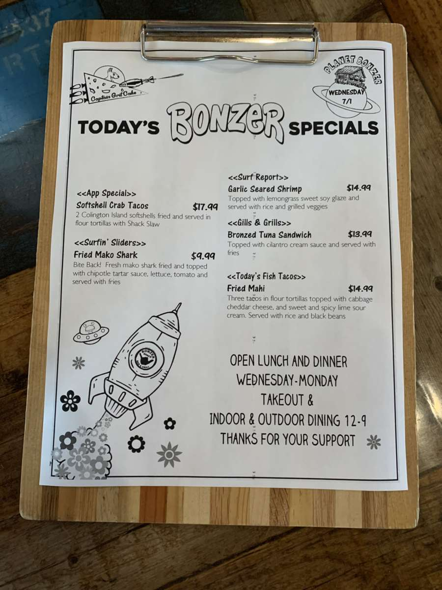 LUNCH SPECIALS 7/1