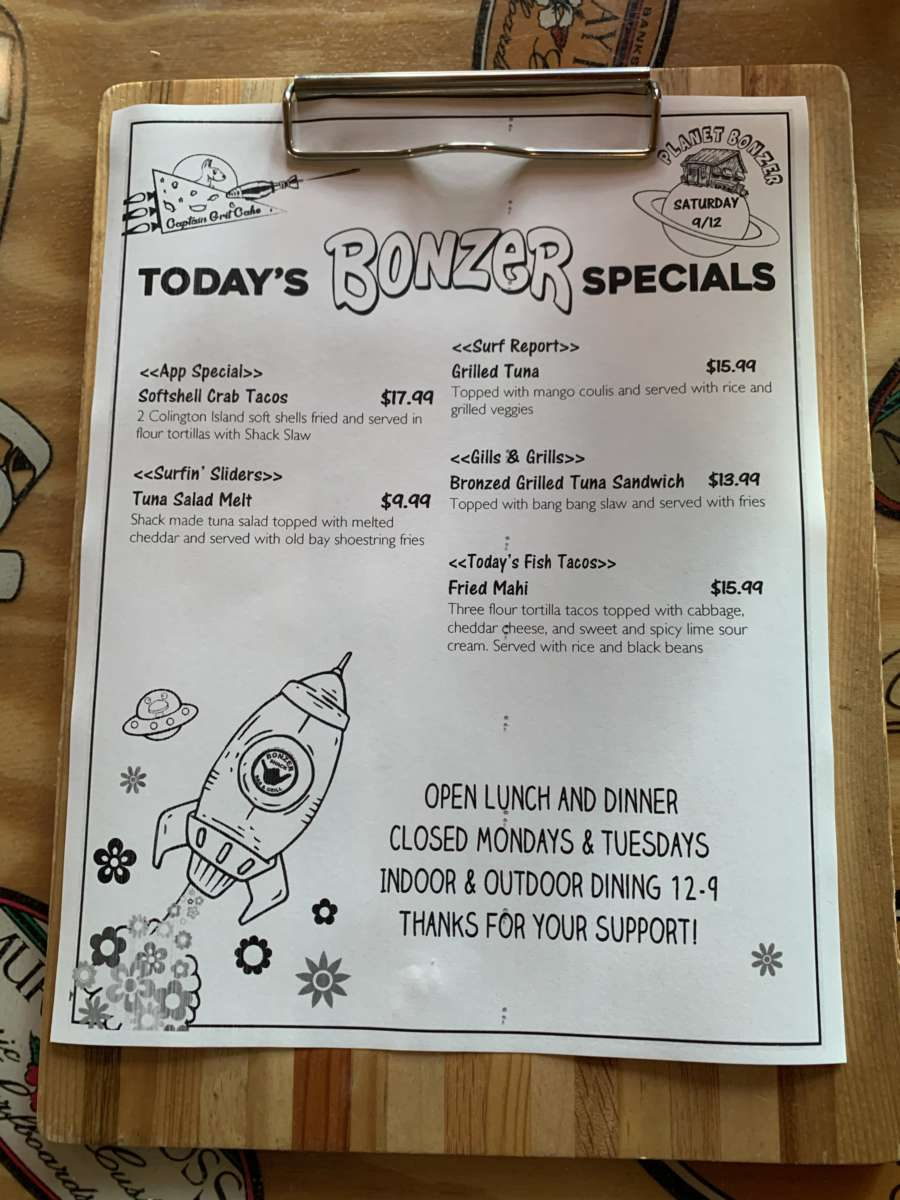LUNCH SPECIALS 9/12