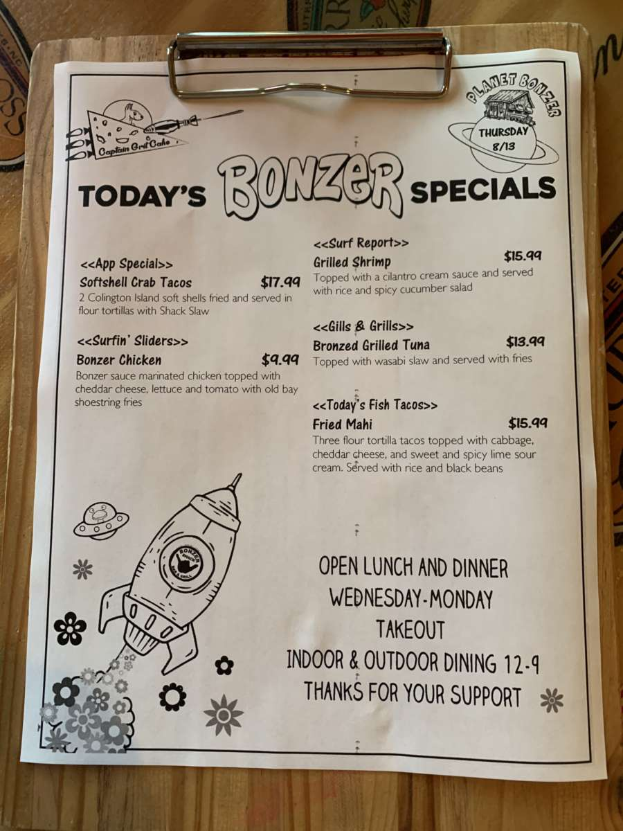 LUNCH SPECIALS 8/13