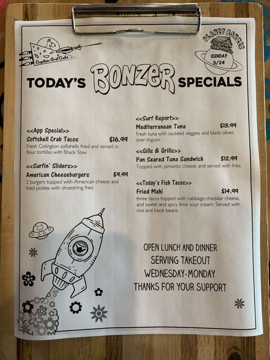 LUNCH SPECIALS 5/24
