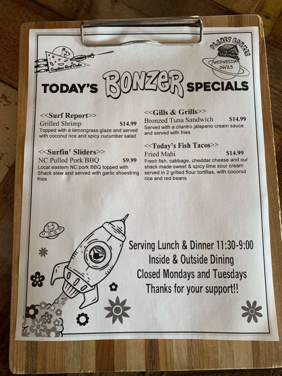 LUNCH SPECIALS  06/23