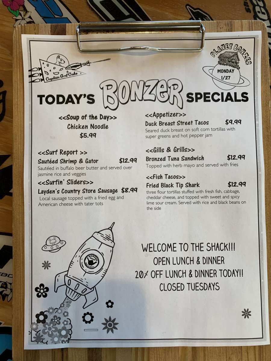 LUNCH SPECIALS 1/27