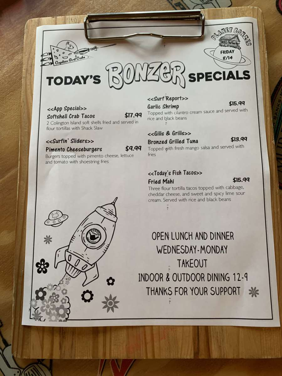 LUNCH SPECIALS 8/14