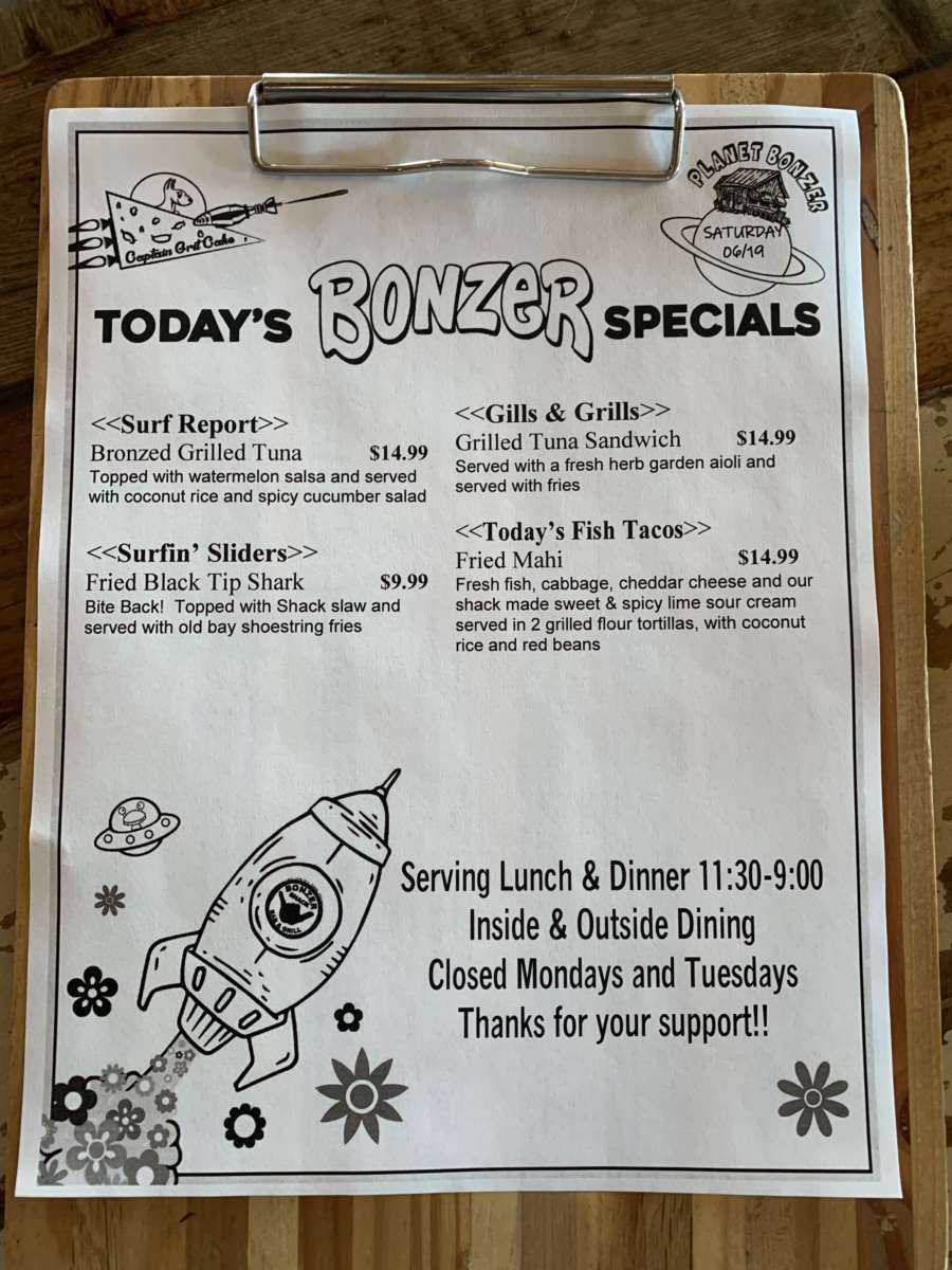 LUNCH SPECIALS   06/19
