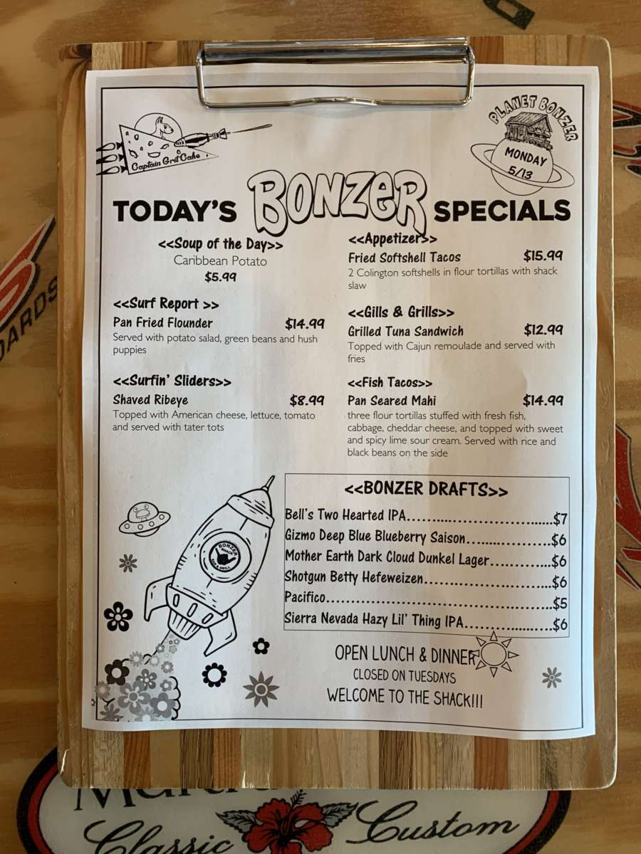 LUNCH SPECIALS 5/13