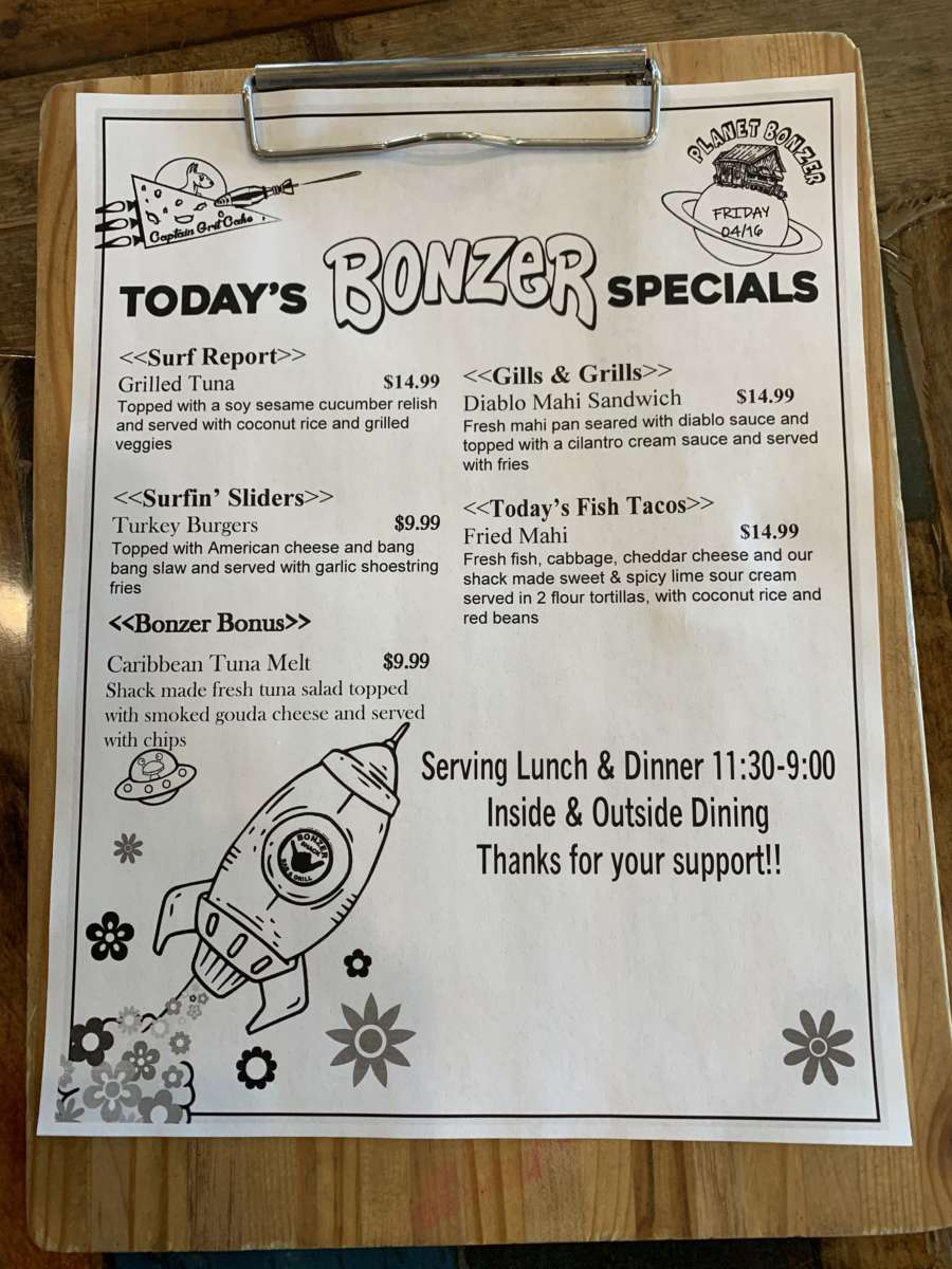 LUNCH SPECIALS   04/16