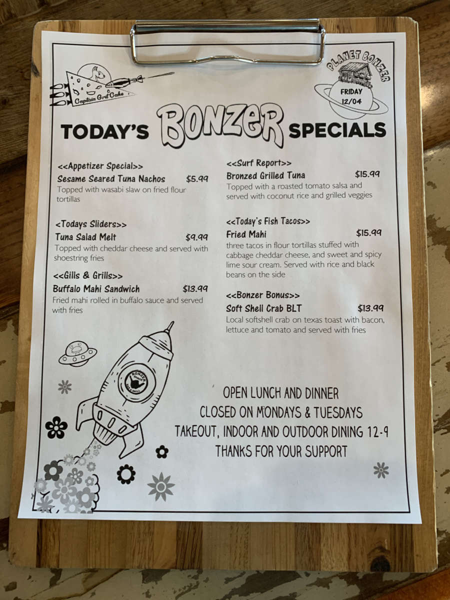 LUNCH SPECIALS  12/04