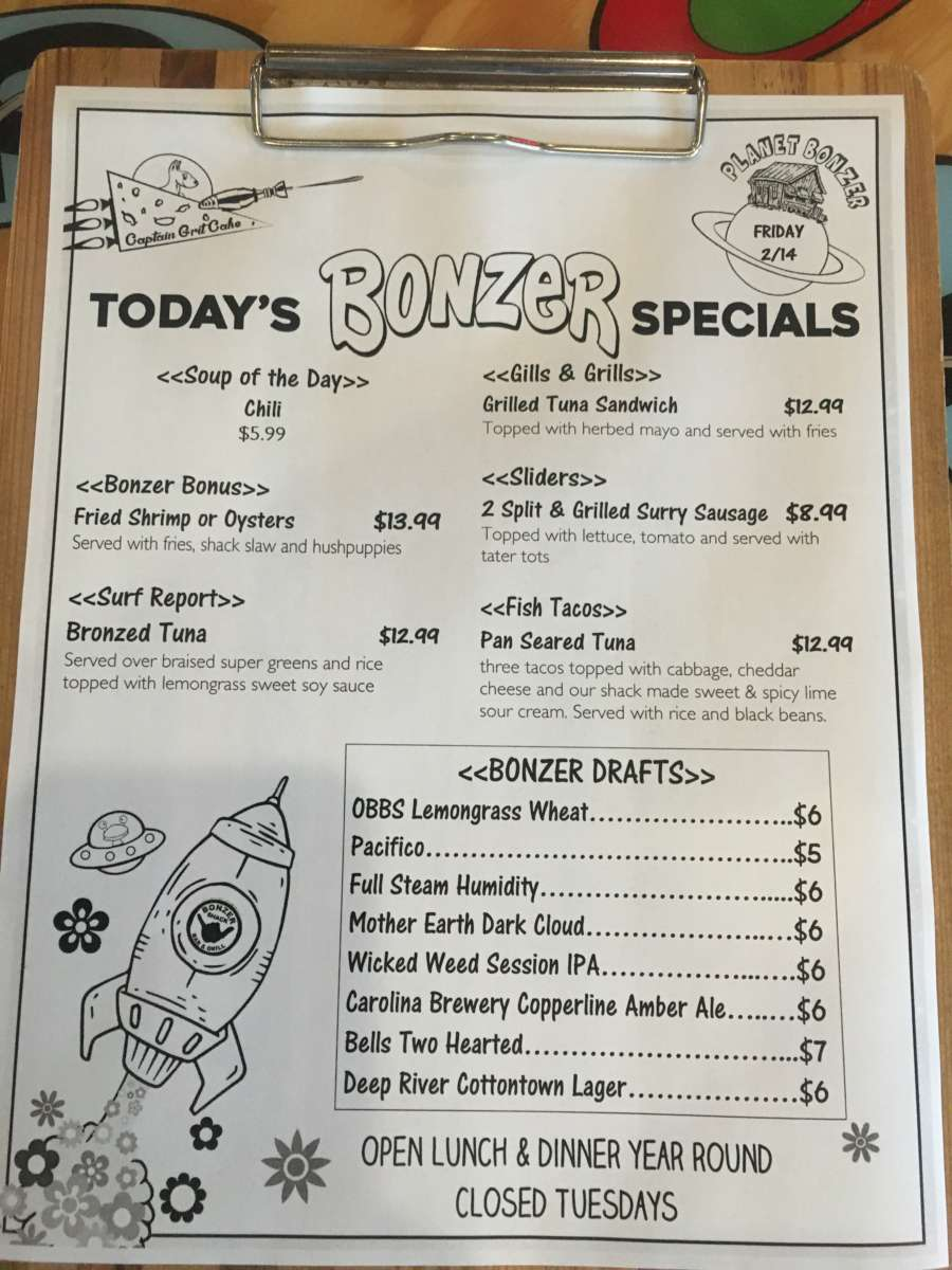 LUNCH SPECIALS 2/14