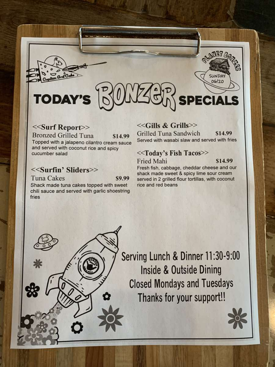 LUNCH SPECIALS   06/20