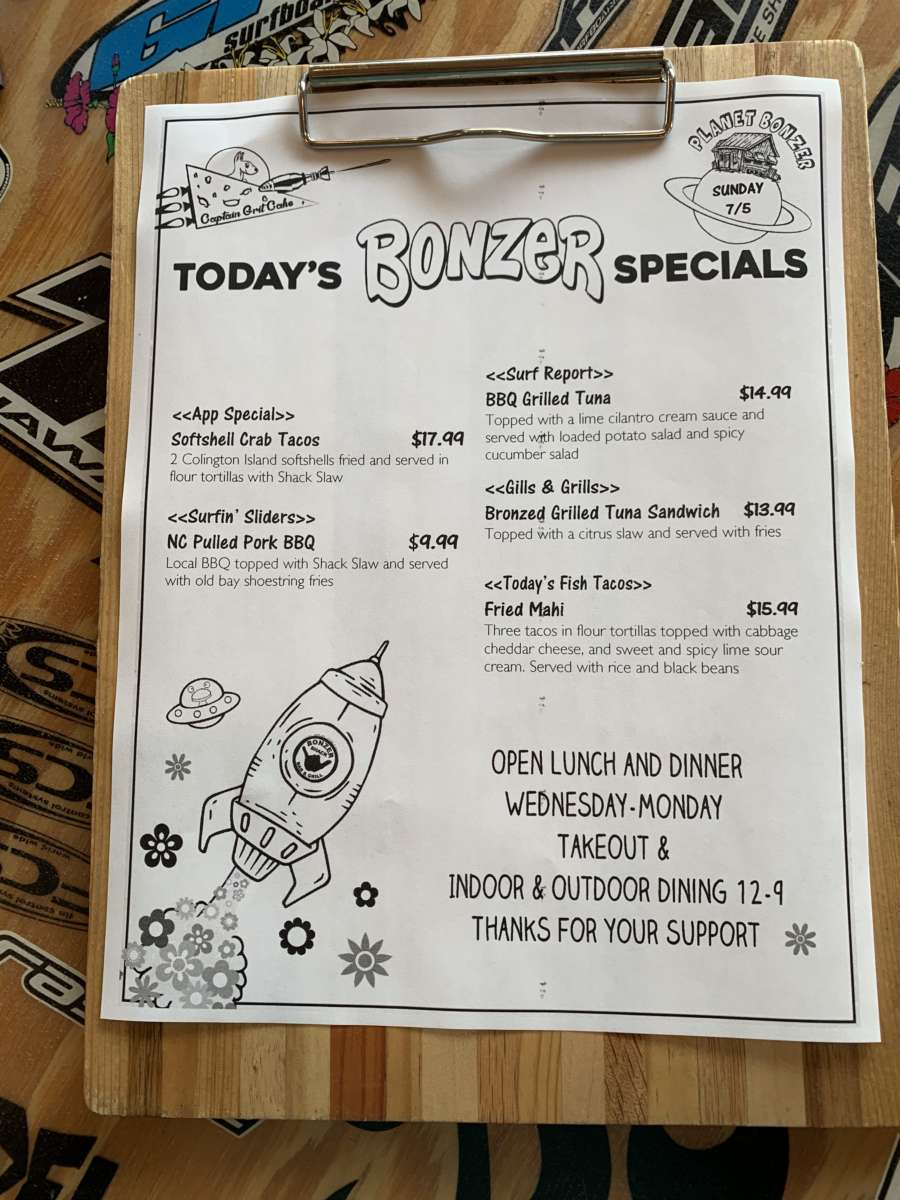 LUNCH SPECIALS 7/5