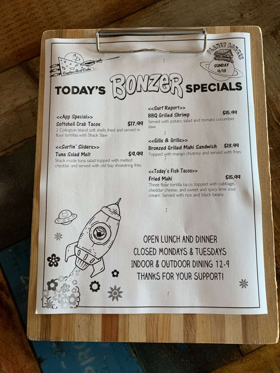 LUNCH SPECIALS 9/13