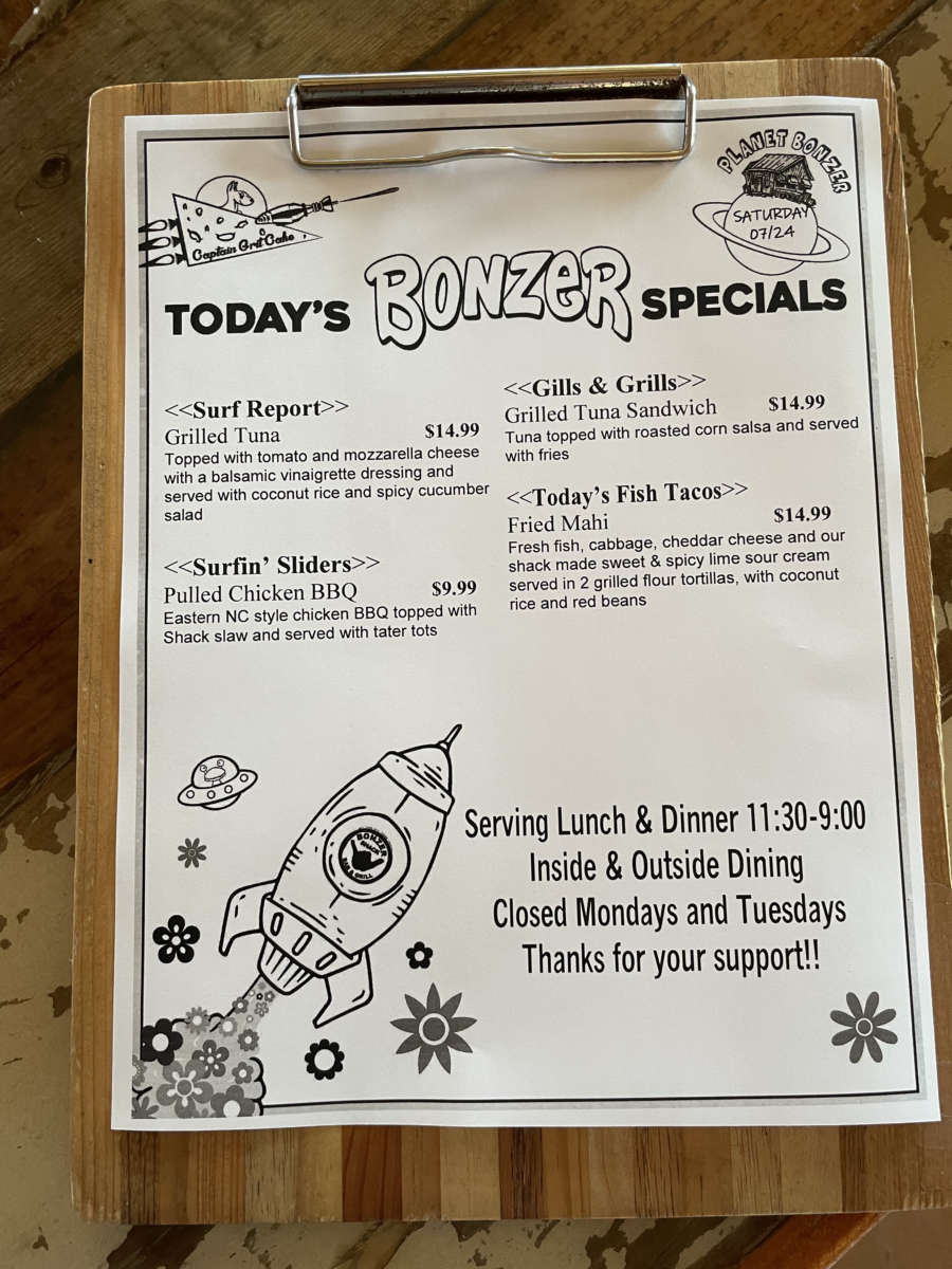 LUNCH SPECIALS   07/24