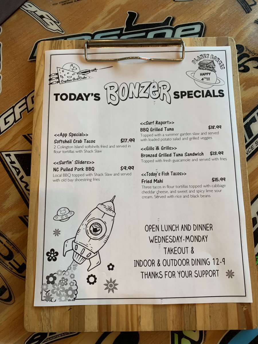 HAPPY 4TH   DINNER SPECIALS