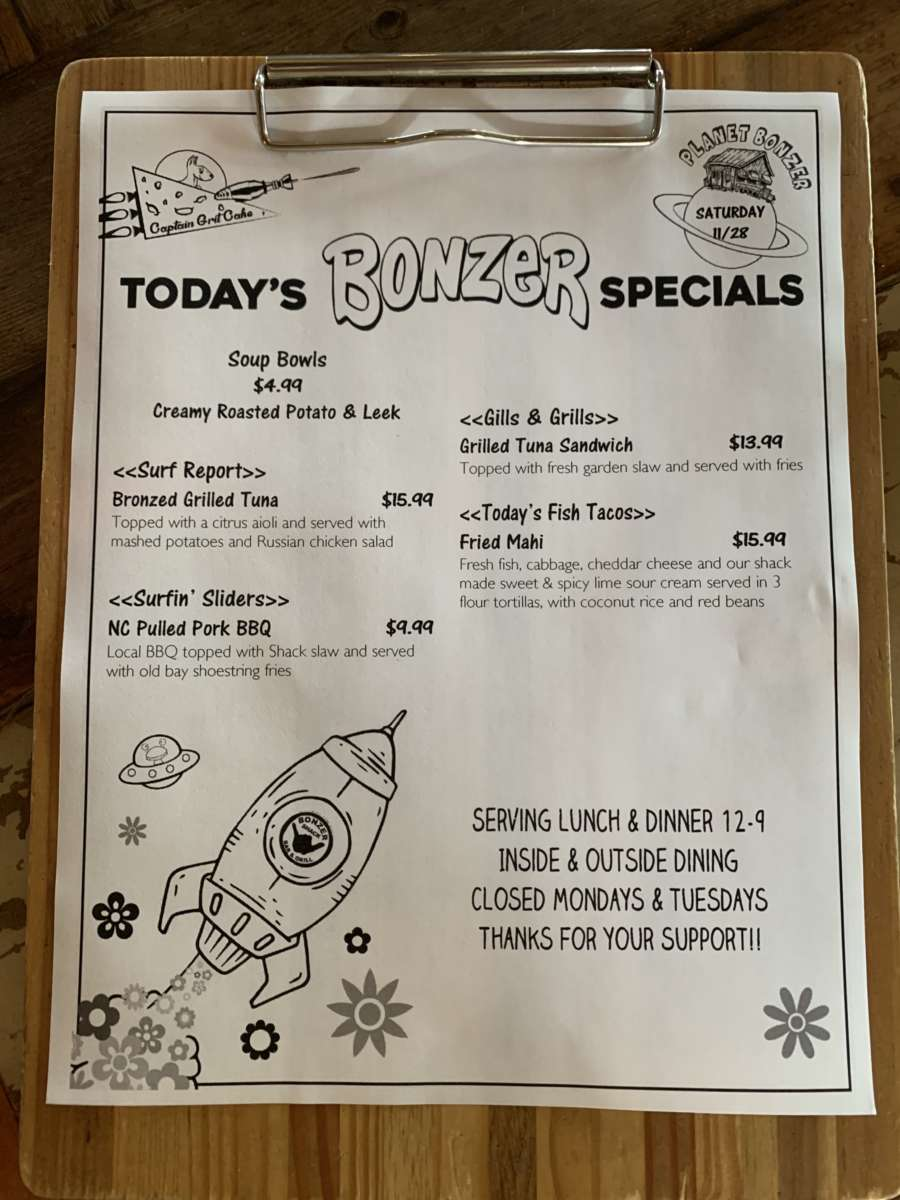LUNCH SPECIALS  11/28