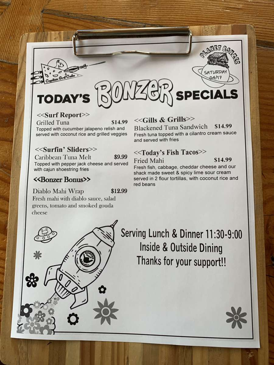 LUNCH SPECIALS   04/17