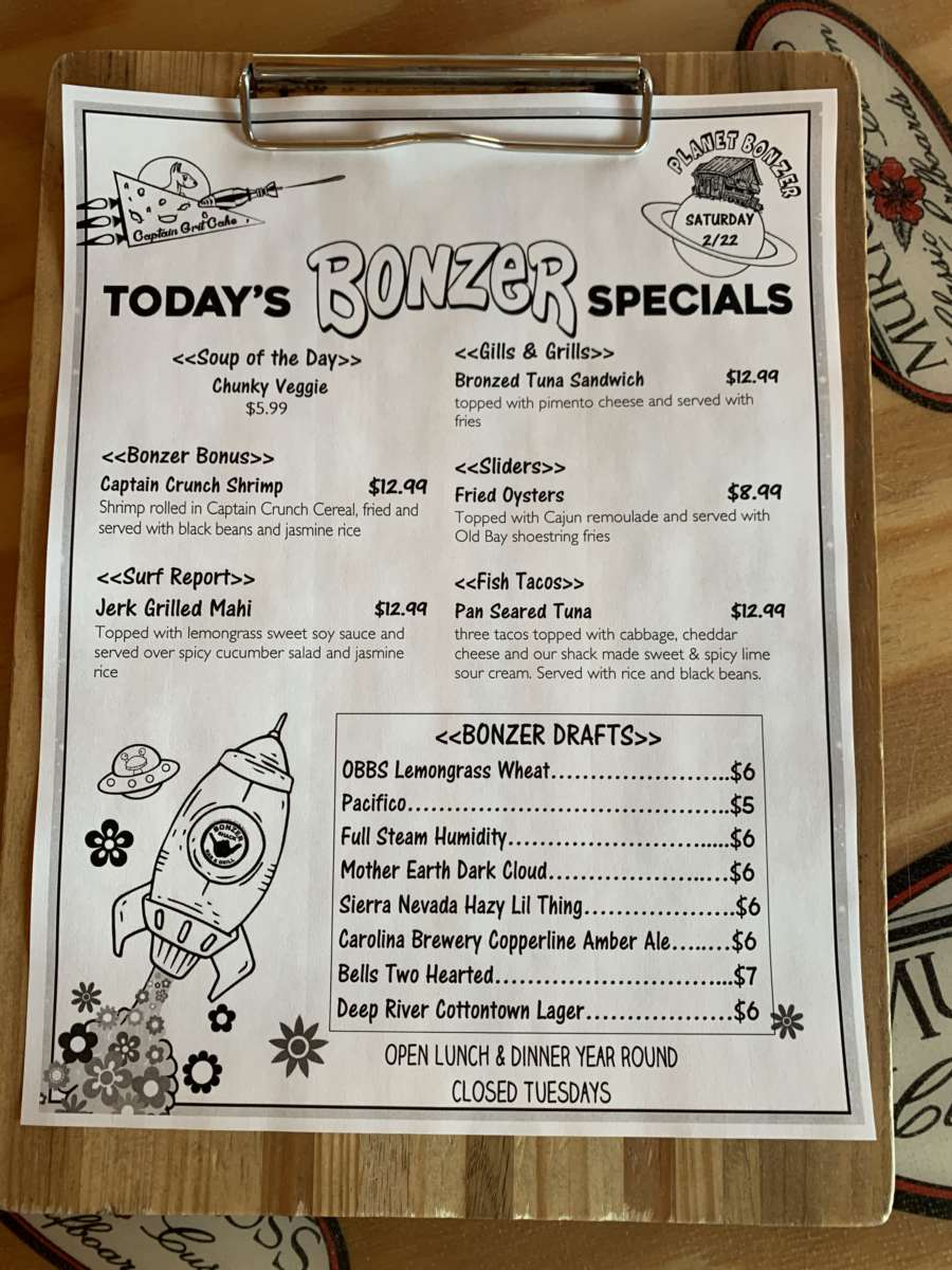 LUNCH SPECIALS 2/22