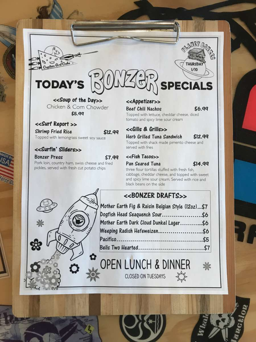 LUNCH SPECIALS 1/10