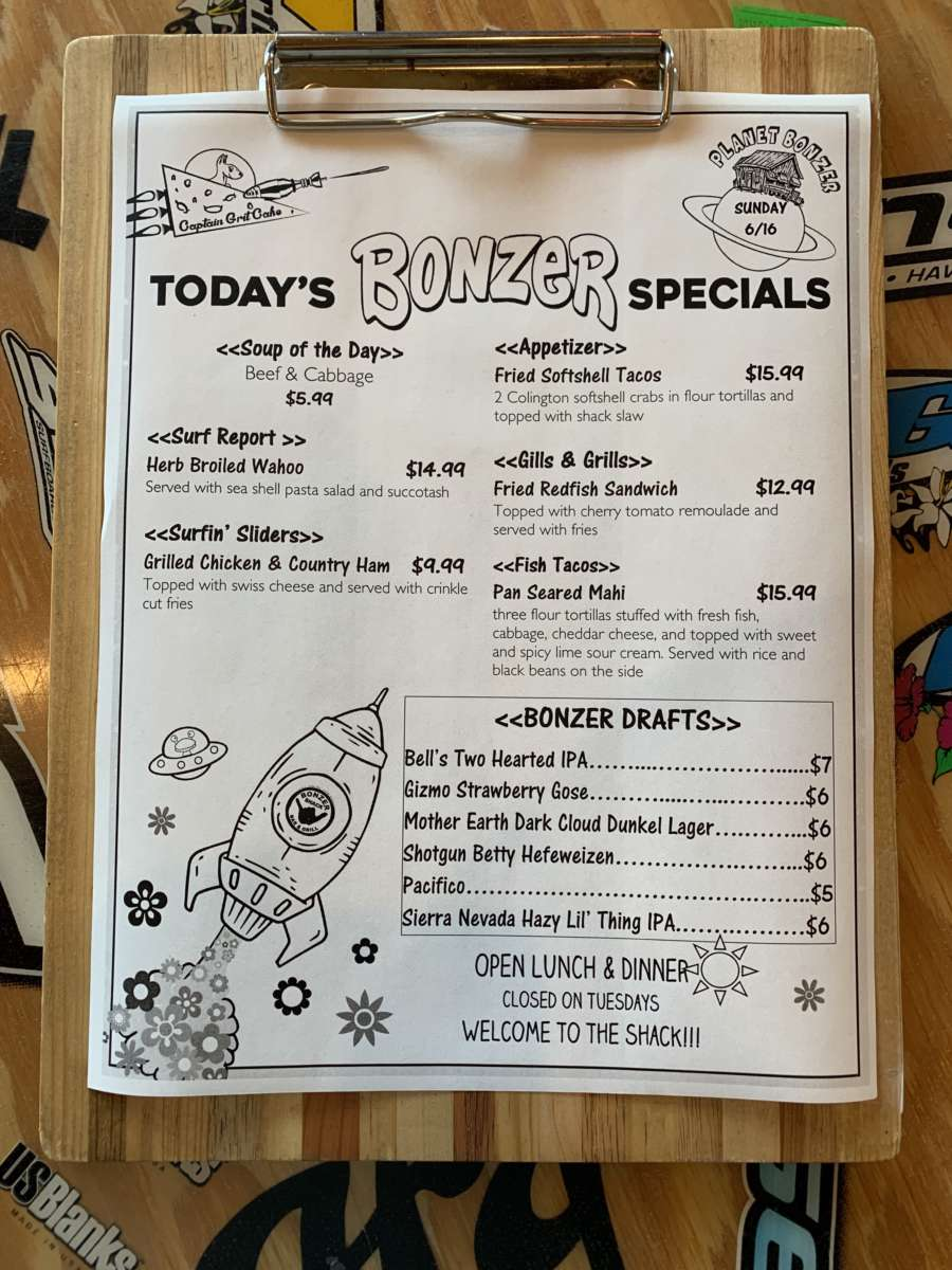 LUNCH SPECIALS 6/16