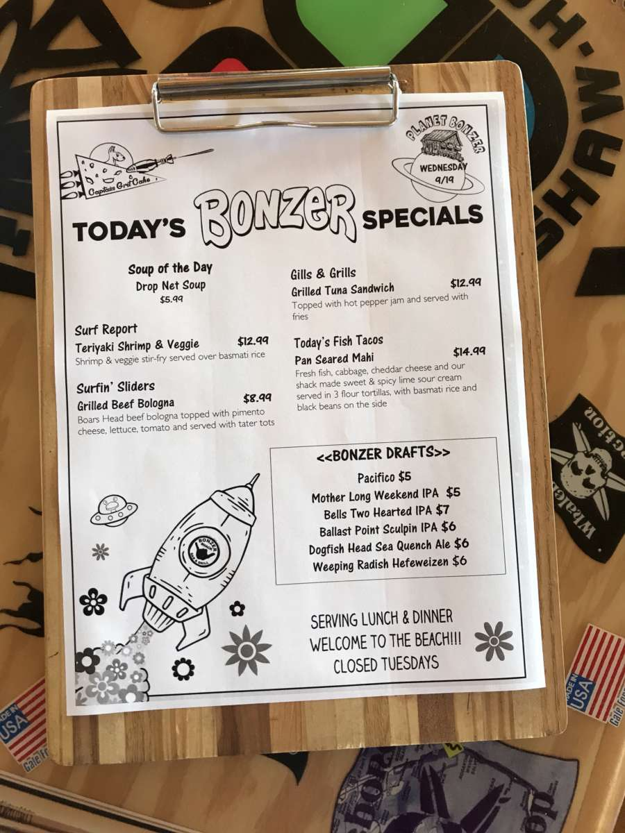 LUNCH SPECIALS 9-19