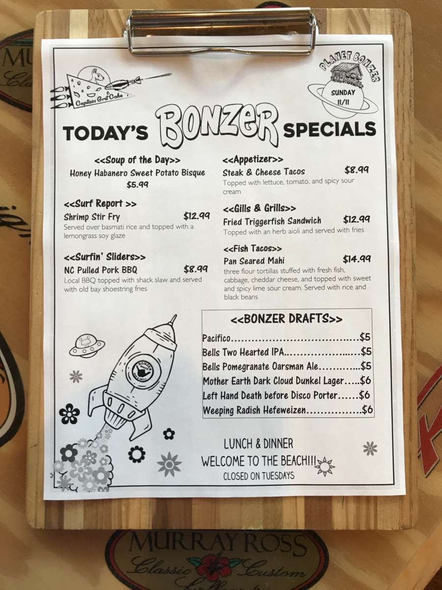 LUNCH SPECIALS 11/11