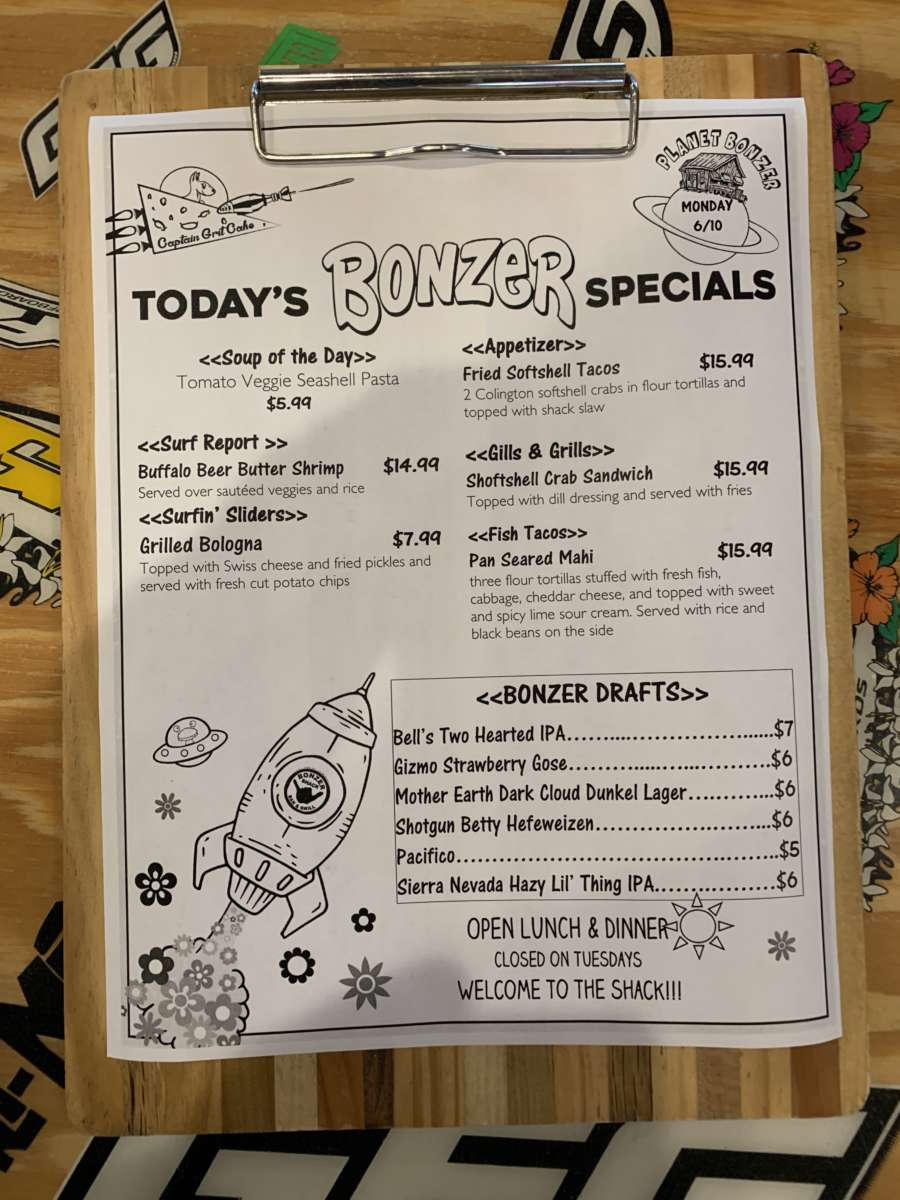 LUNCH SPECIALS 6/10