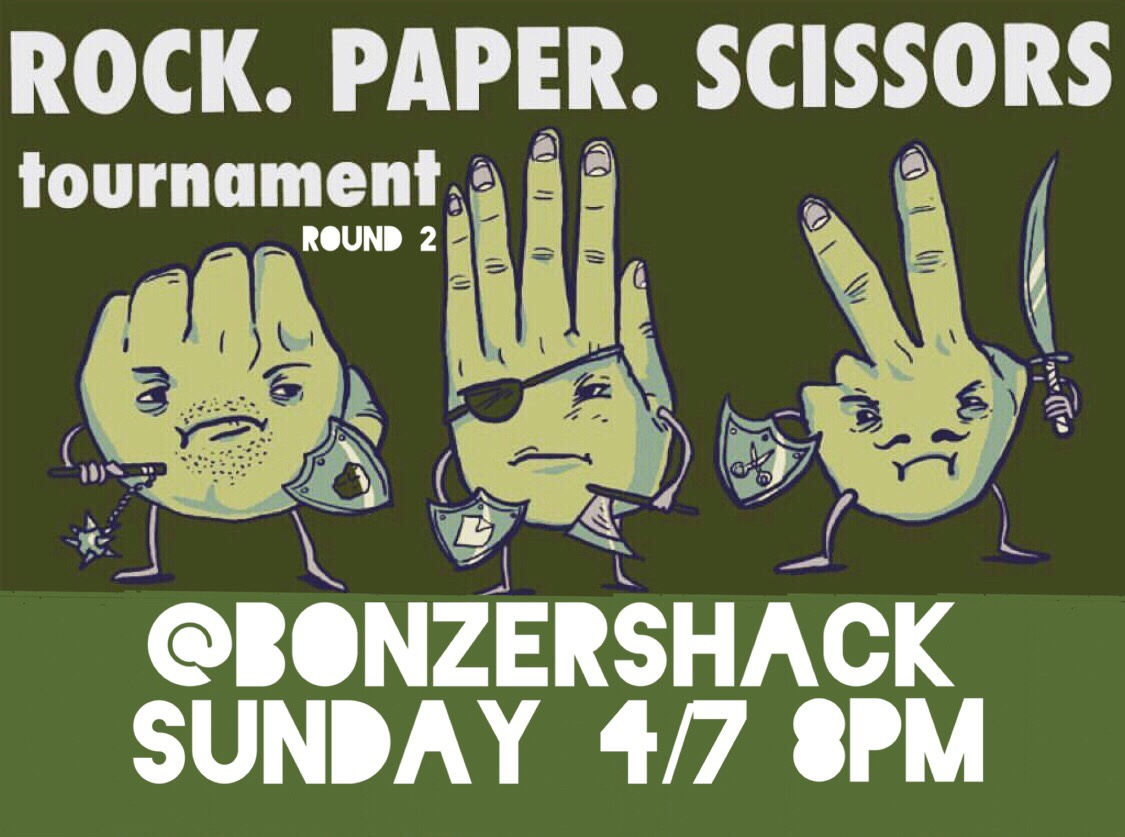 BELLS ROCK PAPER SCISSORS